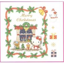 (OP=OP) Hello Kitty: kerstmotieven- Motifs Noel / Christmas designs