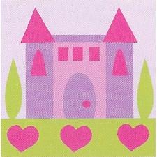 Kasteel van de prinsses - LE CHATEAU PRINCESSE - KIT