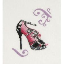 Rose pump - Pink Peep Toe Heels