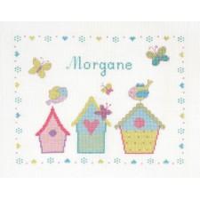 Geboortetegel Mijn eerste lente: Morgane