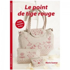 Red stem stitch - Le point de tige rouge
