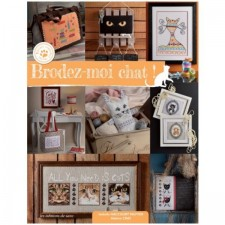 Embroider Cats - Brodez-moi chat!