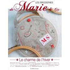 DMC boek De Charme van de winter - Les Borderies de Marie: Le Charme de l'Hiver
