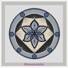 BOR03B Mandala Spotlight grijs compleet