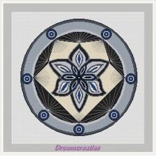 BOR03B Mandala Spotlight grijs
