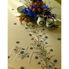 Tafelkleed korenbloemen