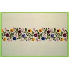 Tafelkleed viooltjes