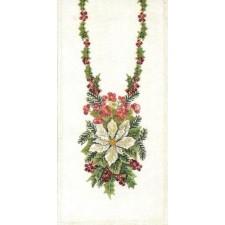 Kerstkleeedje: Begonia Ster van Bethlehem (Begonia Star of Bethlehem)