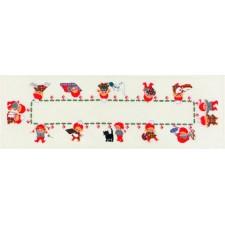 Kerstkleeedje: lopertje Pixies (runner Pixies)