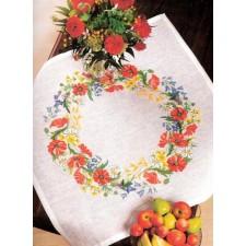 Kleedje klaprozen (poppies)