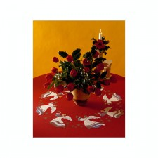 Tafelkleed engelen - Angels rood