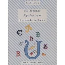 Cross Stitch Book - Alphabet Styles