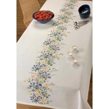 Tafelkleed veldbloemen - Bronvalla