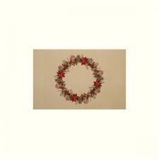 Tafelkleed kerstkrans - Christmas cloth