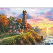 Sunset Lighthouse Max Colors