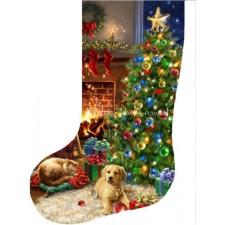 Stocking Cozy Christmas Flip