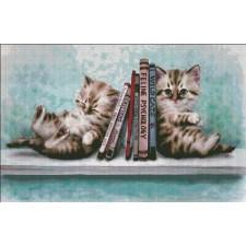 Book End Kitties