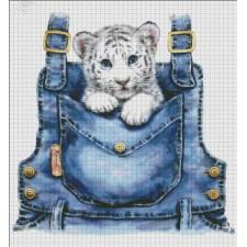 Pocket White Tiger