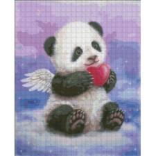 Mini Panda Heart