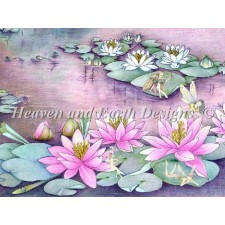 Fairies on Waterlilies