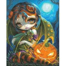Mini Halloween Dragonling