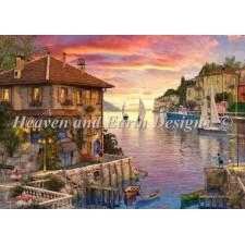 Supersized The Mediterranean Harbour Max Color