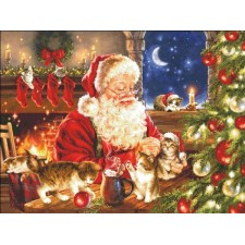 Supersized Kitten Christmas Max Colors
