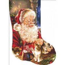 Stocking Kitten Christmas