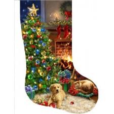 Stocking Cozy Christmas DG