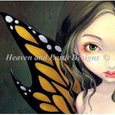 PAB Fairy With Dried Flowers NO BK