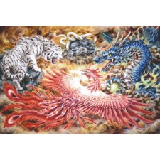 Four Heavenly Beasts Max Colors