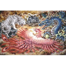 Supersized Four Heavenly Beasts Max Colors
