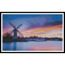 Windmill at Dawn - #11294