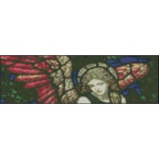 Angel Stained Glass Bookmark