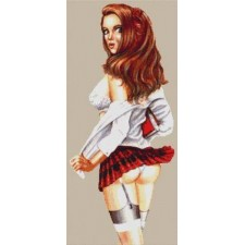 School Girl Pin-up