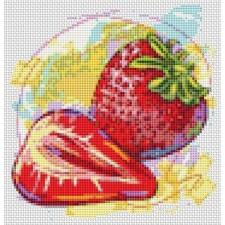 Kitchen Series: Fresh Strawberries (Mini Chart)