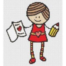 Mary Jane Series - My Valentine (Mini Chart)
