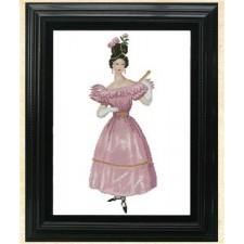 Mlle. Chantal Vintage Fashion Chart