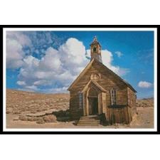 Old Desert Church - #11326