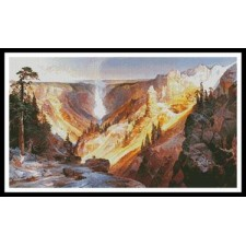 Grand Canyon of the Yellowstone - #11334