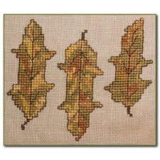 Autumn Leaves Wall Quilt Block I