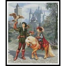 Prince and Falconer - #11344-MGL