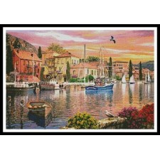 Harbour Sunset - #11349-MGL