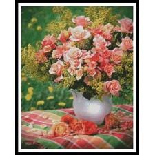Peach Roses - #11352-INT