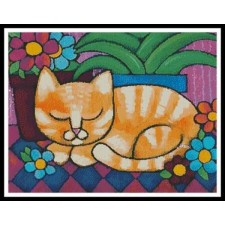 Orange Tabby Cat - #11358