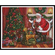 Santa on Christmas Eve - #11362-MGL