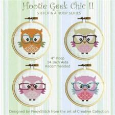 Stitch & a Hoop Pattern: Hooties Geek Chic II
