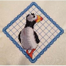 Lace Puffin I