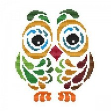 Art Deco Owl 2