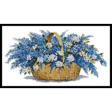 Lilac Basket - #11366-PFLD